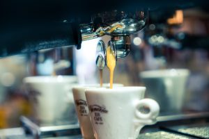Eiscafe Venezia - Espresso Siebträger