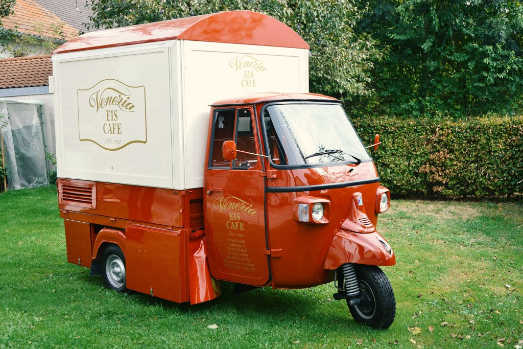 Eiscafe Venezia - Eiswagen